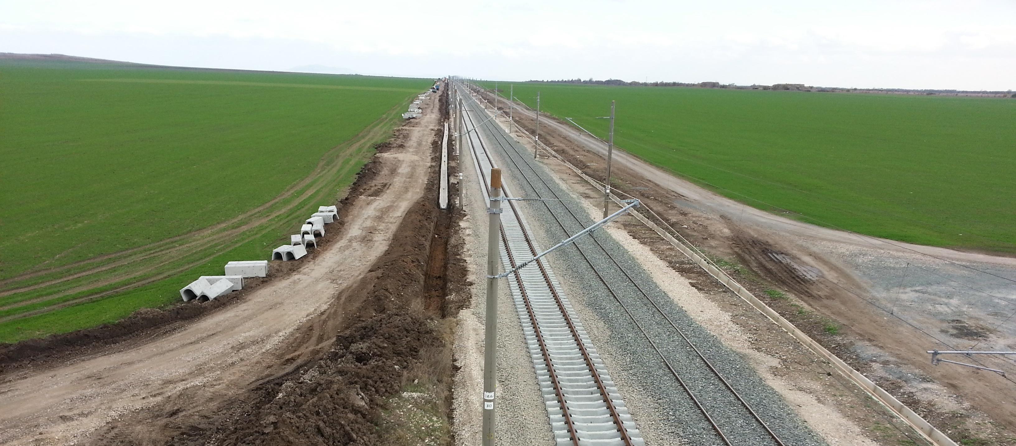 Building-of-a-new-Railway-track-Kermen-Bezmer