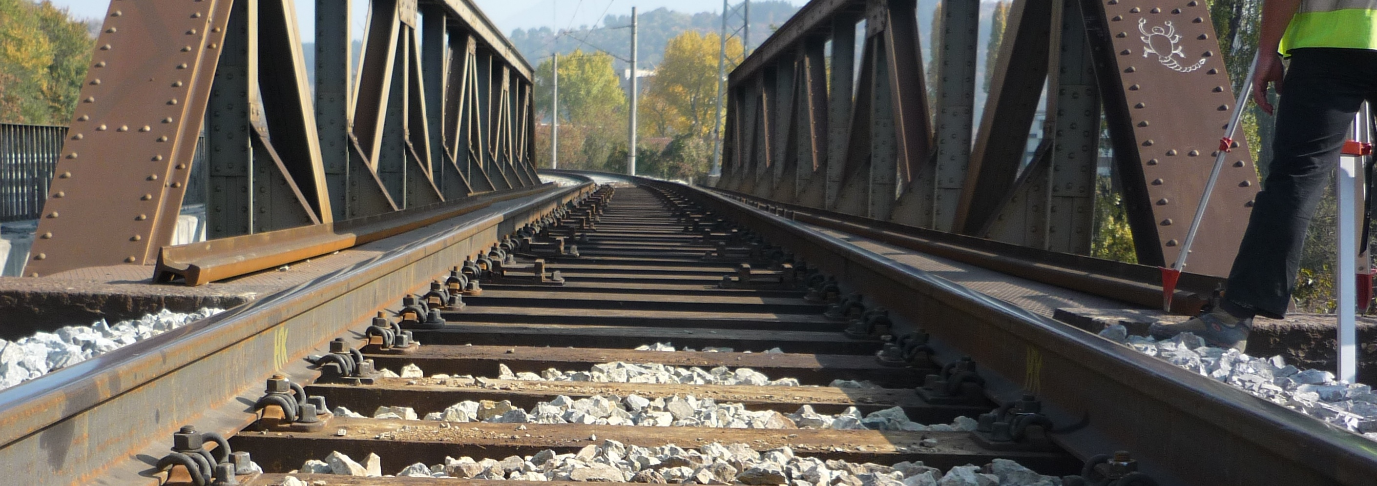 Geodesy-measurements-of-New-railway-bridge-Dupnitsa